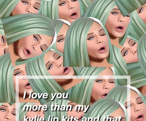 iloveyou, kylie, and tumblrwallpaper image