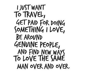 quotes, travel, and love image