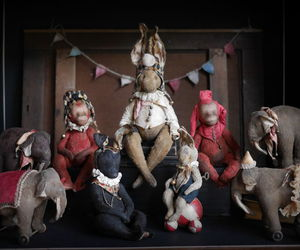 circus, doll, and toy image