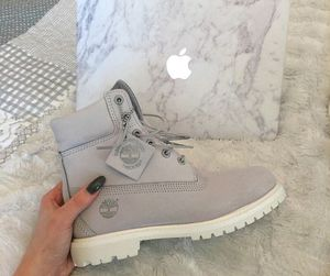 timberland, boots, and apple image