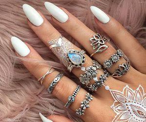 alternative, beautiful, and rings image