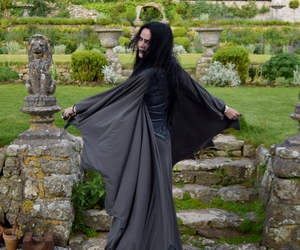 alternative, goth, and gown image