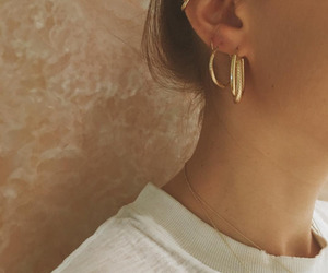 blogger, earring, and fashion image
