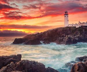 Atlantic, ireland, and rocks image