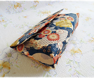 etsy, envelope clutch, and japanese print image