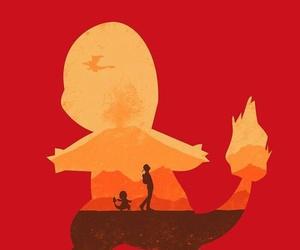 charmander, pokemongo, and teamvalor image