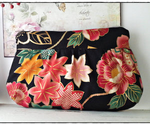 etsy, japanese print, and make up pouch image