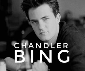 king, chandler bing, and sarcasm image