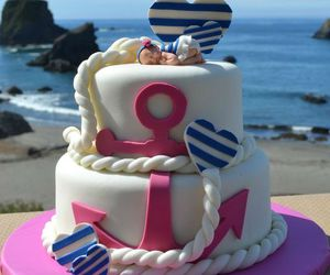 anchor, baby, and cake image