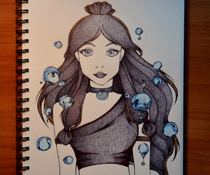 avatar, drawing, and girl image
