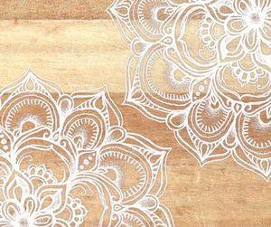 art, mandala, and wallpaper image