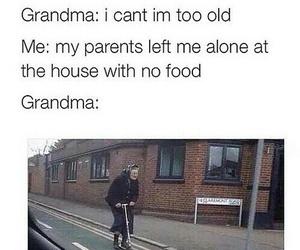 grandma, funny, and food image