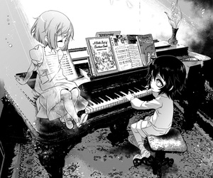 bleach and piano image