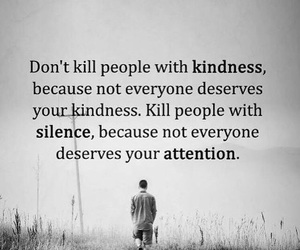 attention, kindness, and quotes image
