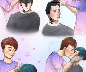 drawings, amazingphil, and dan and phil image