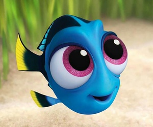 dory, disney pixar, and finding dory image