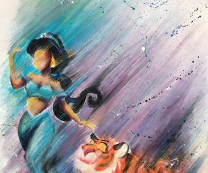 ariel, art, and disney image