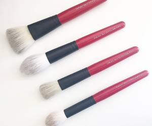 luxury, sephora, and makeup brushes image