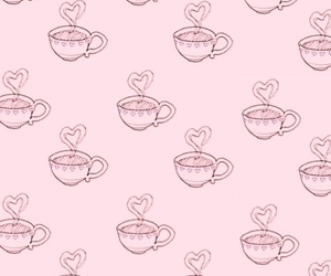 art, coffee, and heart image