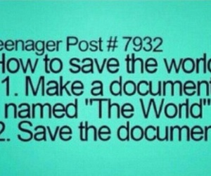 funny, save, and Document image