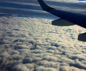 beautiful, clouds, and fly image