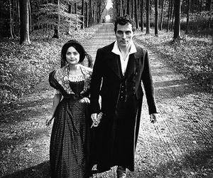victoria, jenna coleman, and rufus sewell image