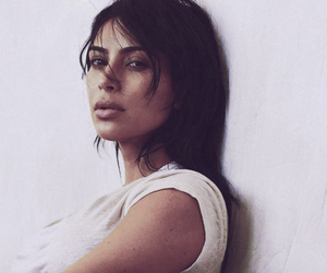background, editorial, and kim kardashian image