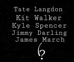james, kit, and tate image
