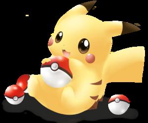 kawaii, pikachu, and pokemon image