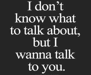 quotes, love, and talk image