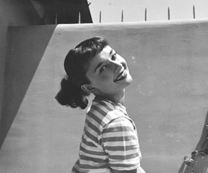 audrey, beauty, and audreyhepburn image