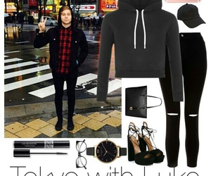 imagine, outfit, and luke hemmings image