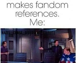 fandom, Avengers, and funny image