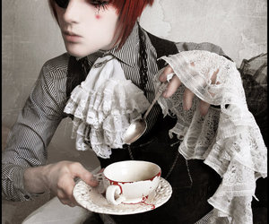 alice, tea time, and valentin perrin image