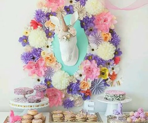 unicorn, decoration, and party image
