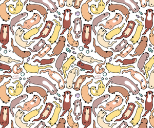 animal, pattern, and cute image