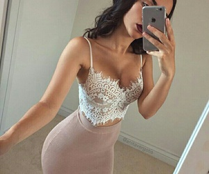 beauty, body, and skirt image