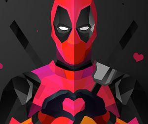 deadpool, wallpaper, and Marvel image