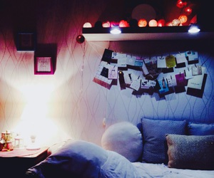 Chambre, lit, and lumiere image
