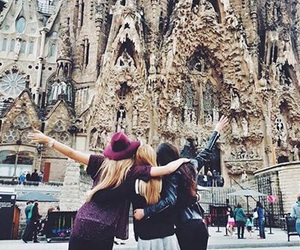 friends, Barcelona, and spain image
