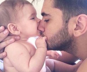 baby, family goals, and dad image