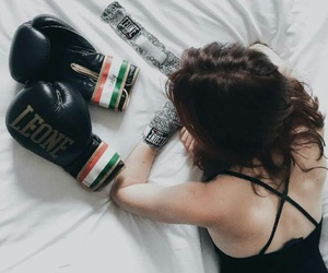 beauty, boxe, and boxing image