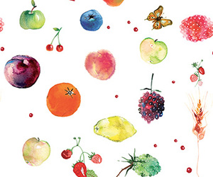 FRUiTS, patterns, and tropical image