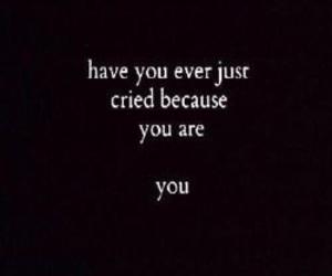 dark, depressed, and sad image