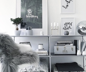 bookshelf, decoration, and home image