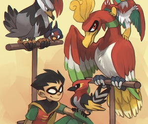 robin and teen titans image