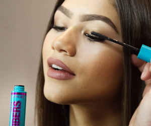 makeup, model, and zendaya image