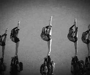 cheer, cheerleader, and needle image