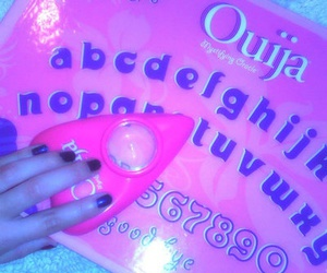 grunge, pink, and ouija image