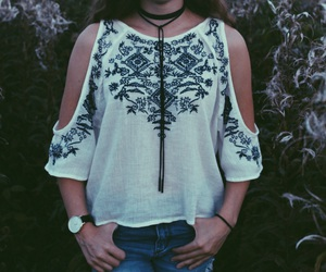 outfit, H&M, and simple image
